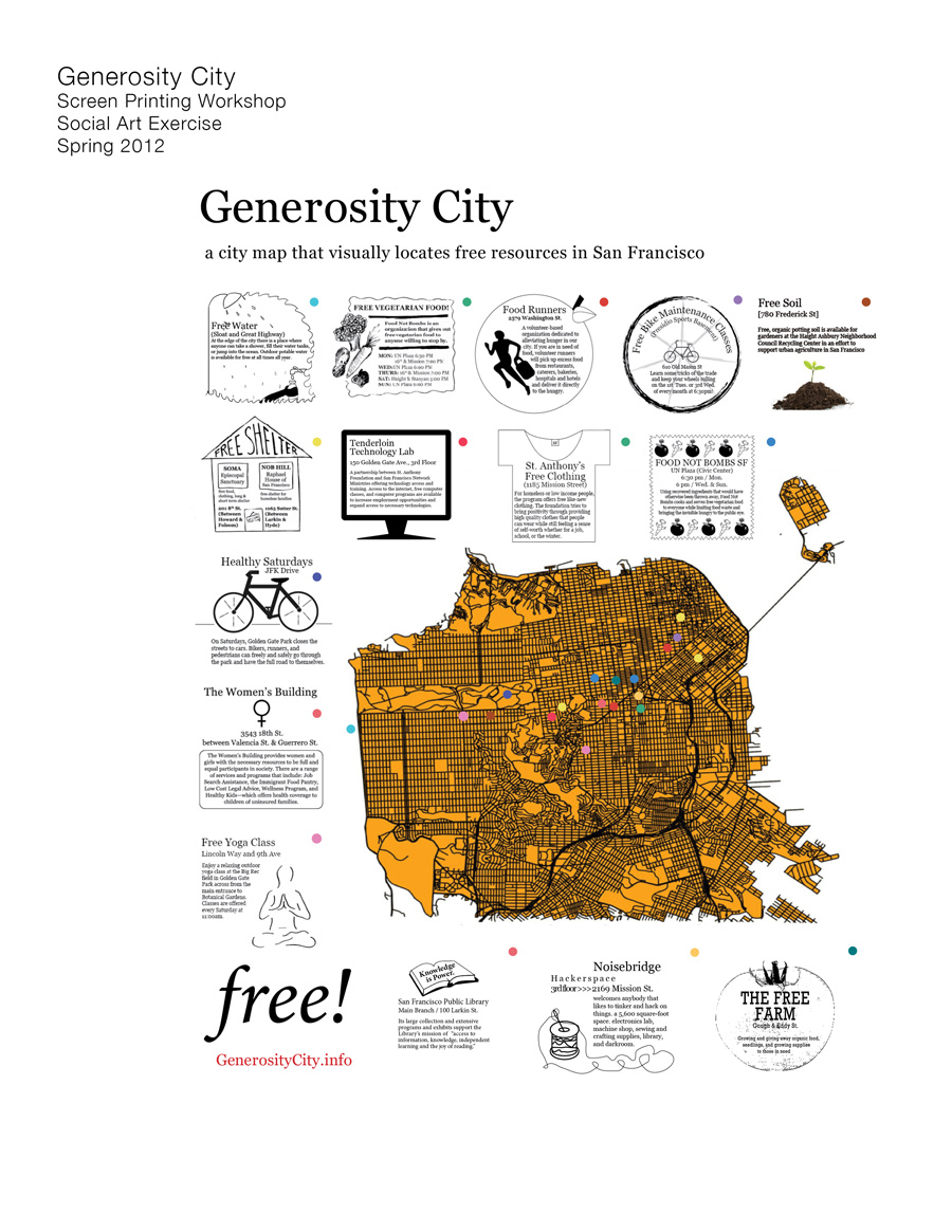 Generosity City / USF / Art + Architecture / Stacy Asher